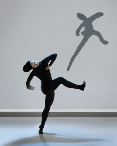 "Interprète/Dancer Lucy M. May performs ""Henri Michaux: Mouvements."" Photo by Marie Chouinard."