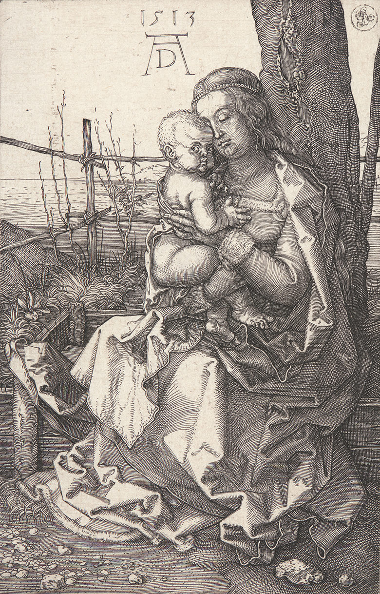 "Albrecht Dürer, ""Madonna by the Tree,"" 1513."